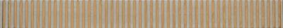 List. Woodshine Bianco 4x40